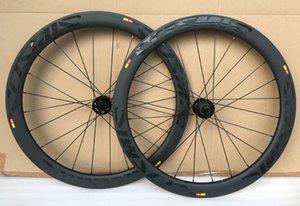 700C disk fren karbon jantlar 50mm Kattığı Tübüler Disk bisiklet tekerlek 25mm genişlik Bisiklet karbon jant 3 K mat finsh