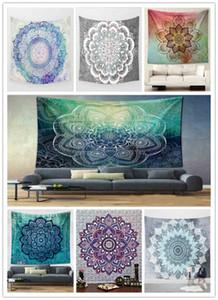 Elephant Print Wall Hanging Tapestry Flower Bohemian Psychedelic Peacock Mandala Bedding Room Decor Rug Yoga Mat Towel Beach Shawl 150*130