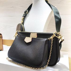 최고 품질 멀티 포 셰트 액세서리 M44813 M44823 M44840는 크로스 바디 사첼 여성 핸드백 지갑 파우치 동전 지갑 인기 가방 포켓