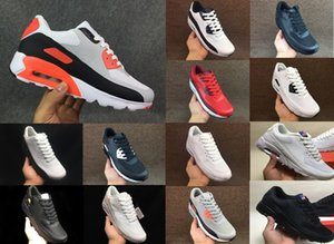 Classique Hommes 90 ULTRA 2.0 ESSENTIL Sneakers Independence Day Man Chaussures de course Casual Zapatillas USA Flag Taille 40-45