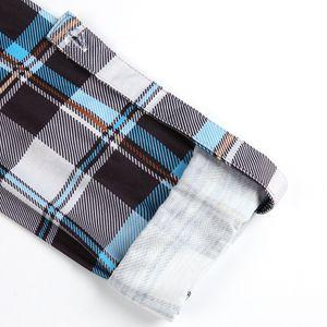Women Blouses Plaid Print Nursing Tops Casual Maternity Clothing Winter Long Sleeve Breastfeeding Blouse Pregnant Blusas D30