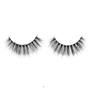 False eyelashes 3D hand-made natural long lengthing eye end lashes thick black soft comfortable spiky sticky for eye make-up #42