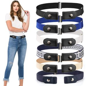 20 Styles Buckle-Free Waist Belt For Jeans Pants,No Buckle Stretch Elastic Waist Belt For Women Men,No Hassle Belt DropShipping