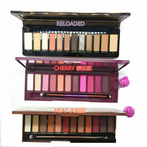 HOT 12 Colors Reloaded Eyeshadow Pallete New NK Cherry Eyeshadow Palette Matte Shimmer High Quality Heat Eye Shadow