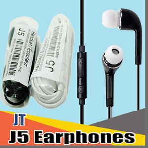 JTD J5 3,5 milímetros fone de ouvido com Mic Volume Control For HTC Android Samsung Galaxy S4 S5 S6 S7 S8 Nota 5 Xiaomi telefones móveis