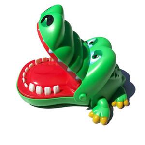 Sıcak Sat Büyük Timsah Bite Parmak Oyuncak Köpekbalığı Diş Çıkarma Oyunu Timsah Ebeveyn-çocuk Çocuk Oyuncak Bite