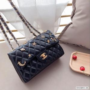 la moda diosa pequeña bolsa cuadrada, el bolso, la moda de la cadena de un solo hombro y el movimiento clásico de la bolsa esencial