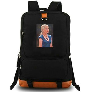 Game Of Thrones Fire And Blood Logo Unisex Sport Bag Drawstring Backpack//Rucksack