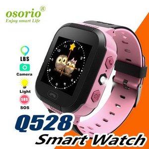 Q528 Дети Смарт Часы Kid SmartWatch сенсорный экран SOS Emergency GPRS сигнализации камеры Anti-потерянный часы наручные часы Детские часы
