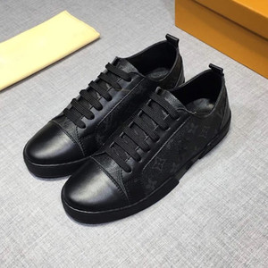 Eğitmen moda lüks erkek tasarımcı rahat ayakkabılar yüksek kalite süperstar moda lüks elbise ayakkabı boyutu 38-45