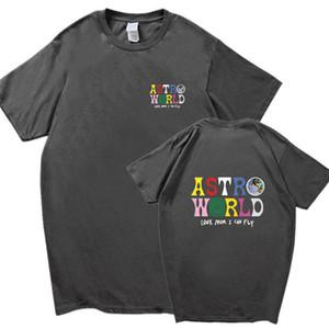 Casual TSA para hombre de las camisetas de manga corta con cuello redondo de moda World Tour Concert Ropa Ropa