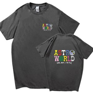 TSA 남성 티셔츠 남성 반팔 크루 넥 패션 캐주얼 의류 월드 투어 콘서트 의류