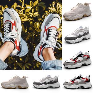 Fashion Triple Black white Low cut Brown Men Casual shoes comfortable Cheap breathable women men shoe sports sneakers 39-44