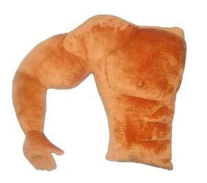 부드러운 베개 근육 남자 친구 팔 모양 뒤로 쿠션 큰 안락한 침대 베개 따뜻한 여자 베개를위한 베개 생일 선물