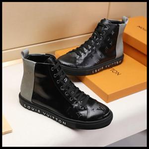 2019A ilkbahar ve sonbahar erkek s gündelik spor ayakkabıları orijinal kutu hızlı teslimat ile mikro standart yüksek üst kemer seyahat spor ayakkabısı,