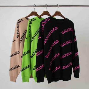 Sweater Flower pulôver de 2019 Senhora Letra solto camisola New Medusa Sweater Homens Inverno Cardigan Homens e Mulheres Roupa