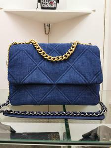 Горячего новой моды дизайнер дама пояса мешок цепь мешок посыльного небольшие мешки плечо джинсовых алмазы мыть ретро ремесленное плечо сумки