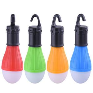 4 Цвет открытый кемпинг оборудование фонарь палатка свет мини портативный светодиодные лампы аварийный туризм рыболовный крючок фонарик