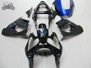 Kit carenti di alta qualità per Kawasaki Ninja ZX-9R 00 01 Blue Flames Flames Parti figure ZX9R 2000 2001 ZX 9R