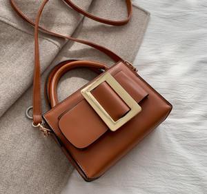 New Mulheres Bolsas alta moda sacos de ombro Feminino Designer Bandoleira Sacos Ladies PU Leather Messenger Bag Mini Contratado Cow / 4