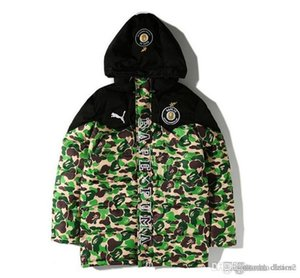 Новый стиль мужской камуфляж теплые толстовки осень зима толстые хлопковые бейсболки мужские с длинным рукавом теплая хлопковая куртка топ