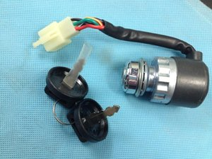 Ключ зажигания переключатель для UTV Go Kart ATV 5 контактный провод китайский 50 150 250CC S