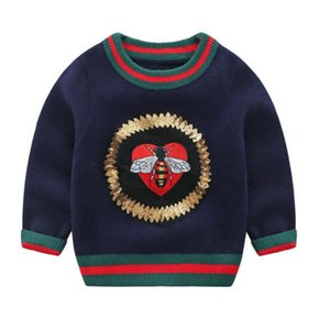 Best Quality Kids Toddler Boy Sweater Spring Autumn Baby girl Pullover Wool Coat Jacket For Children baby Clothes 3-24 Months