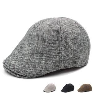 아이비 Unisex 패션 Duckbill 골프 Cabbie Newsboy Womens Flat Beret Men Cap Hat Qhmix