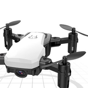 HJ20 mini folding drone 200W WiFi fixed high whitemini RC drone with Mini Folding UAV toys for childeren best gifts