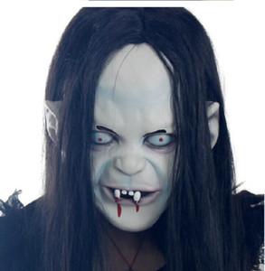FAROOT Cadılar Bayramı Masquerade Parti Maskeler Cospaly Korku Prajna Hayalet Korku Maskesi Emülsiyon Cadılar Bayramı Maskesi