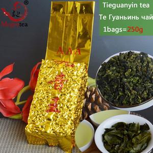 250g de grado superior de té chino de Anxi Tieguanyin, Oolong, té lazo Guan Yin, té Cuidado de la Salud, Paquete de vacío, envío libre