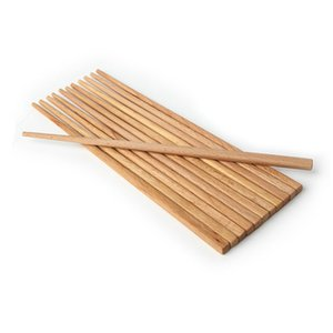 Natural Wood Noodles Chopsticks Saudável reutilizável Kitchen Sushi Food Chopsticks Cozinha fritada de madeira Super Long Chopsticks VF1587 T03