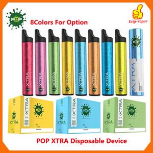 POP Xtra descartável Dispositivo pré-cheia 3,5 ml 550mAh Battery Pod 1000 Puff Vape Esvaziar Pen VS Puff Bar PLUS Brilho Bidi vara