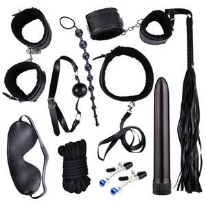 Sex Bullet Vibrators Sexspielzeug Für Paare Slave Sm Zurückhaltung Bondage Kits Analplug Finger Dildo Vibrator Peitsche Knebel Erotikspiele Y190722