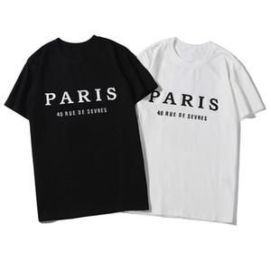2020 Mens Designer da uomo di alta qualità casuale delle donne manica corta da uomo Lettera Designer Stampa T Shirt T-2 colori