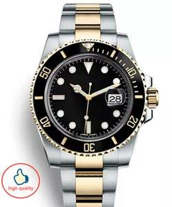 Ceramic Bezel Mens relógios automáticos relógios de grife Luxusuhr orologi da donna di lusso de luxo suíça de relógios com o logotipo RX moda à prova de água