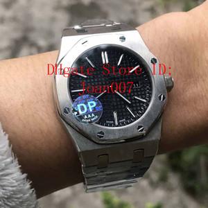 2019 Hot Sale relógio para homens Movimento Quartz Dial Azul Série Mens Watch 15202 Stainless Steel Mens Relógios DP Fábrica melhor qualidade