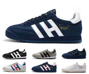 Clássico Originals Dragão Mens Running Shoes sapatos branco preto cor de rosa azul Superstars 80 Womens Runner Sports