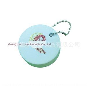 6dOlt PU Oval zylindrische Schlüsselkette mit wasserdichter Beschichtung kleine Beutel PU Oval Boje zylindrische Bojenschlüsselanhänger mit wasserdichten pendant coatin