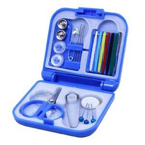 New Hot portable Mini Voyage boîte à couture avec la couleur Threads aiguille à coudre Kit Set Outils Accueil