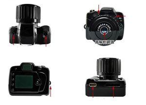 Y2000 높은 정의 휴대용 미니 카메라 스포츠 야외 미니 DV 소형 카메라