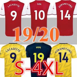 SIZE XXL 3XL 4XL 2019 2020 Arsena sleeve Soccer Jerseys WILSHERE RAMSEY SUAREZ Kieran Tierney Leno goalkeeper 19 20 football full shirt