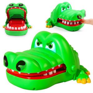 Nisan fool Günü Oyuncaklar Timsah Isırma Oyunu Diş Hekimi Parmak Oyuncak Komik Klasik Çocuk Çocuk El Oyuncak Hediye Stokta