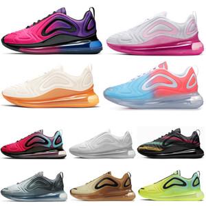 Nike air max 720 Hombres Zapatos deportivos Mujeres SEA VERDADERO DESIERTO Obsidiana Paquete de Pascua Volt Hombres Zapatillas Zapatillas de deporte Zapatillas de deporte