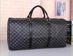 I nuovi uomini di tela di canapa delle donne sacchetto di duffle borsa da viaggio, borse da viaggio di marca borsa sportiva di grande capacità