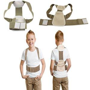 Correttore postura adolescente per bambini Ortesi per correzione ortesi Supporto per schiena Postura correttiva Cintura posteriore flessibile per bambino