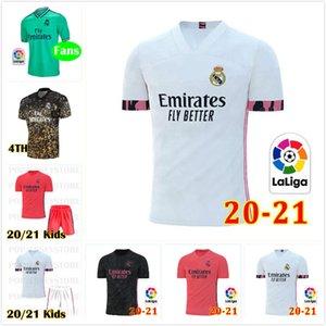 novos 19 20 21 Real Madrid shirts Futebol Jersey Thai Qualidade VALVERDE Madrid 20 21 PERIGO MODRIC BENZEMA futebol uniformes de futebol personalizadas