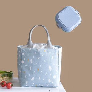 Portable Picnic Carry Case Thermal Lunch Box Storage Bag Insulated Cold Travel Necessary Container Handbag Tote