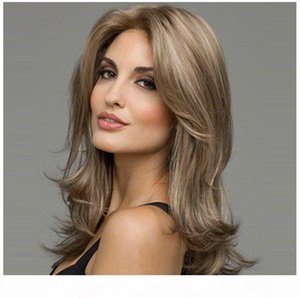 Z&F Blonde 58CM Wigs For White Women Synthetic For Black Women Both Wave Curly European Style Fashion Popular