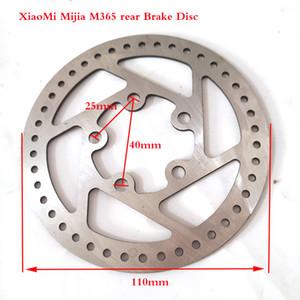 Freies Verschiffen heißen Verkauf Bremsscheibe Für Xiaomi Mijia M365 Elektroroller anpassen Bremsscheibe 110mm Hinterrad Bremsscheibe